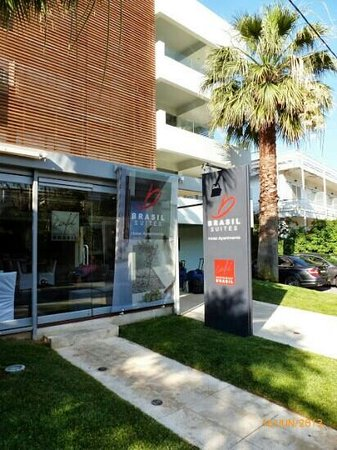 Brasil Suites Hotel Apartments: Great Stay in Glyfada