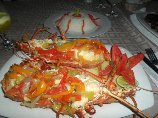 The Greek Sports Bar And Grill: Lobster