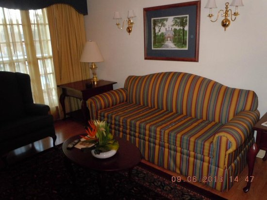 Westgate Historic Williamsburg Resort: Living room area
