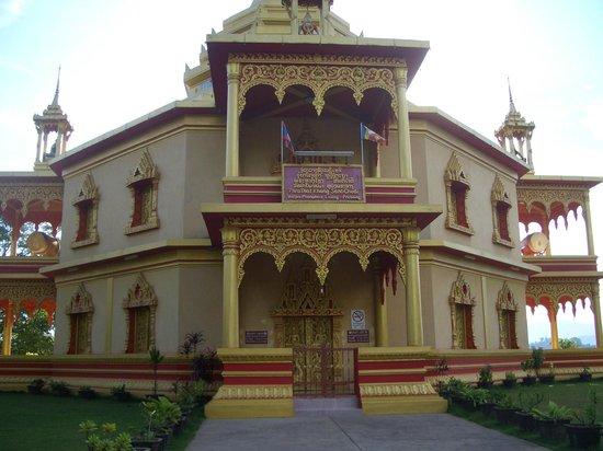 Wat Pa Phon Phao: Santi Chedi