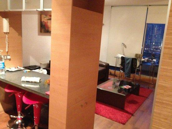 Austral Suites: Sala