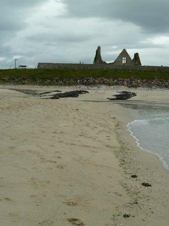 Balnakeil Beach: Balnakiel Beach - old Church ruin