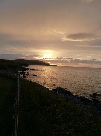 Balnakeil Beach: Balnakiel Bay sunset