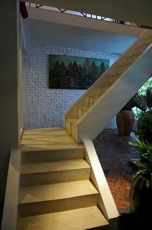 Villa Medamrei: staircase