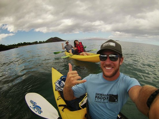 Hawaiian Paddle Sports: our awesome guide, Chad