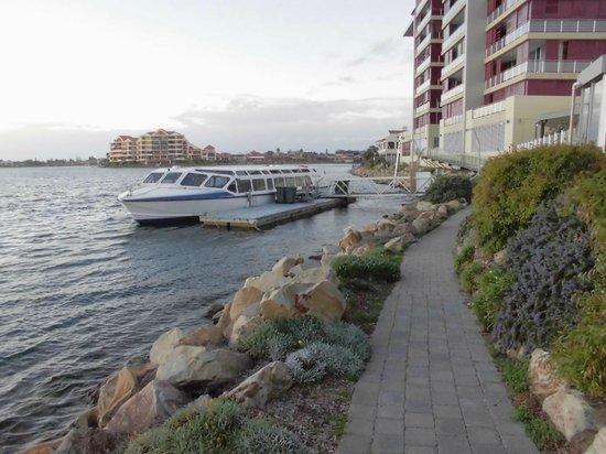 Lakes Resort Hotel backside - Good for Jogging and Walking