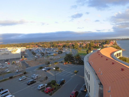 Lakes Resort Hotel (top view overlooking parking area & shopping centre)