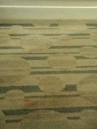 Hilton San Antonio Hill Country Hotel & Spa: kool aid stain