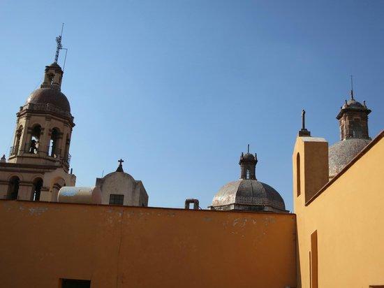Templo y ex-convento de la Santa Cruz de los Milagros : Templo de la Santa Cruz.