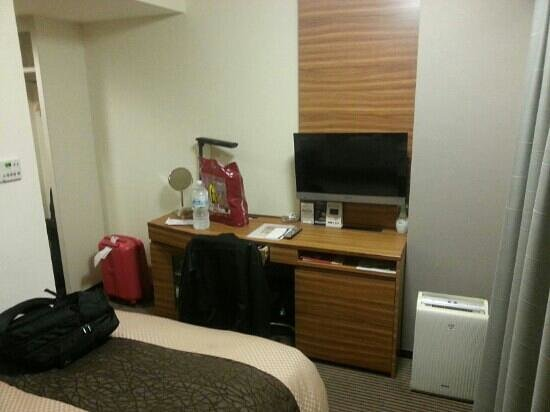 Kichijoji Tokyu REI Hotel : Small but it's Tokyo remember. Space is money and lots of them!