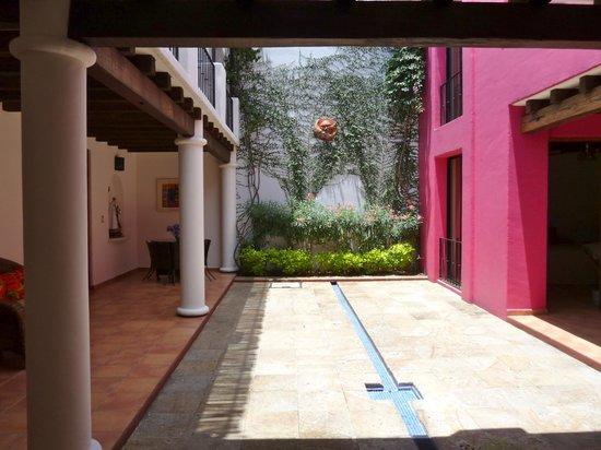 Casa de los Milagros B&B: Internal courtyard