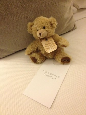 The George Christchurch: Take home teddy provided as part of the turn down service