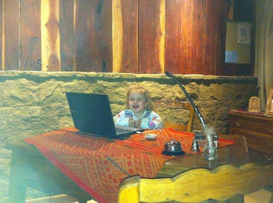 MadreTierra Patagonia: Recepcion