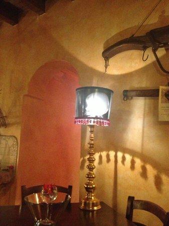 LA LOCANDA DELLA ZIA: Guess whose x-ray that is? right on the lamp shade....
