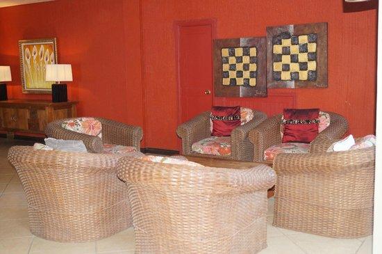 Villas Mon Plaisir: Petit salon tranquille