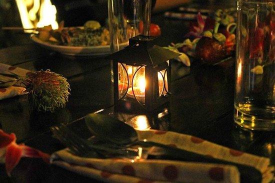 Balloon Restaurant: Private dinner