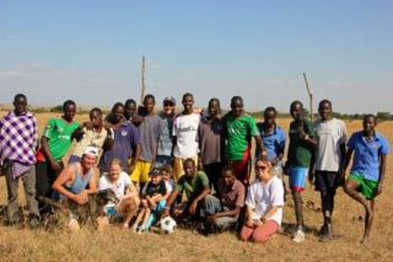 Offbeat Mara Camp: Afternoon Soccer