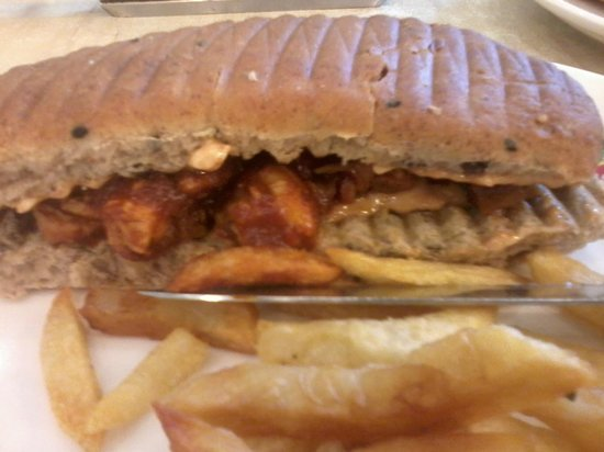 Theobroma : chicken barbeque sandwich