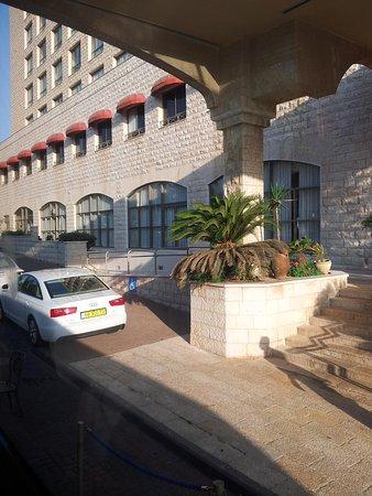 Nazareth Ilit Plaza Hotel : Hotel Entrance