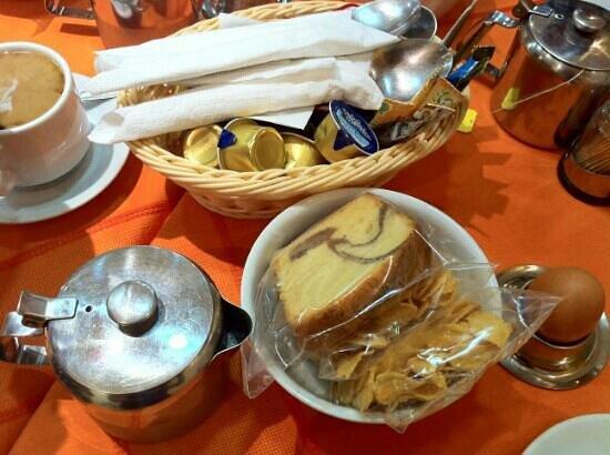 Faros II Hotel: Breakfast