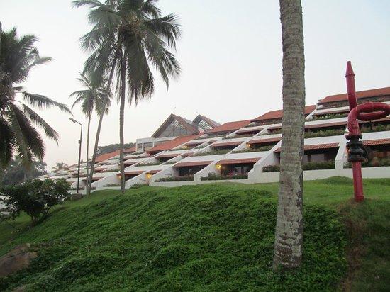 เดอะลีลา โควาลัม บีช: Our rooms as seen from the Sea side
