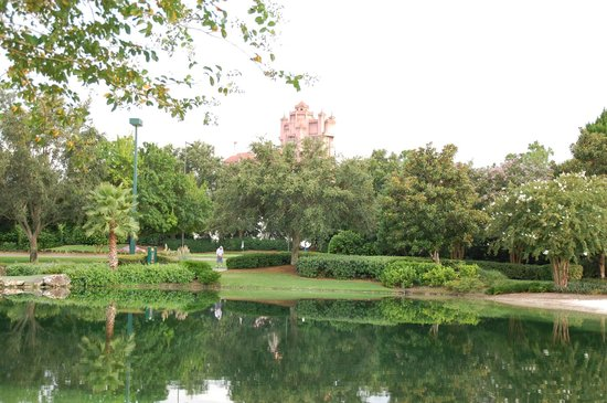 View Of Tower Of Terror From The Course Picture Of