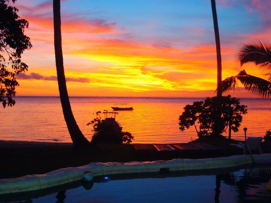 Mango Bay Resort Fiji: Sunnn Settt....???