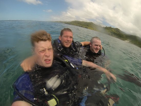 Mango Bay Resort Fiji: Scuba Diving for the first time....