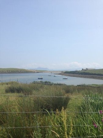 Achill Secret Garden: view to sea