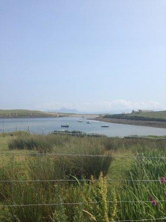 Achill Secret Garden : view to sea