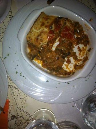 Byzantino : La moussaka di verdure