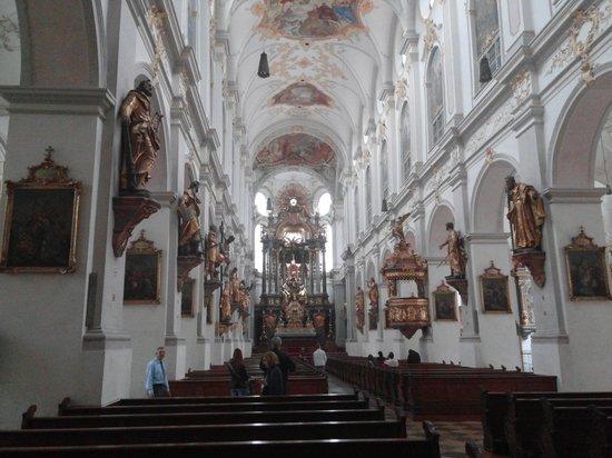 St. Peter's Church: in the church