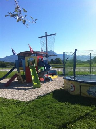 Great playground for kids !