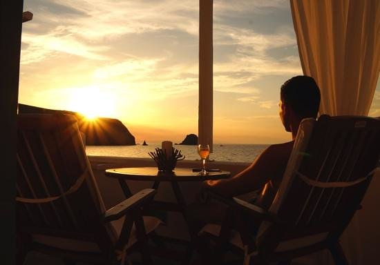 Melian Boutique Hotel & Spa : sunset in September