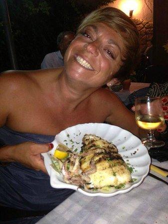 Ristorante Carpe Diem : calamaro alla griglia