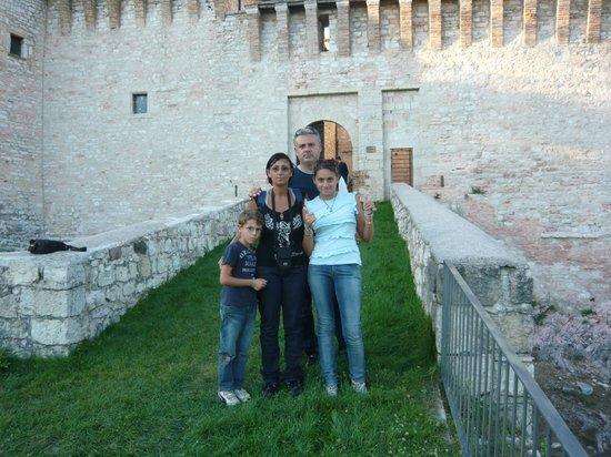 Museo Civico Rocca Flea: nel cortile