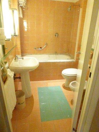 Hotel Apogia Lloyd Roma: Bathroom