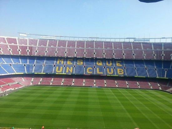 FLABARÇA! - Picture of Museu del Futbol Club Barcelona ...