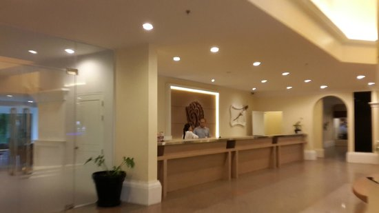 Andaman Embrace Resort & Spa: reception counters at the lobby