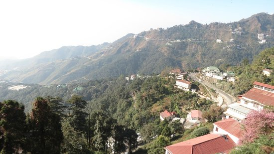 GMVN Garhwal Terrace: View of the Valley from the hotel room