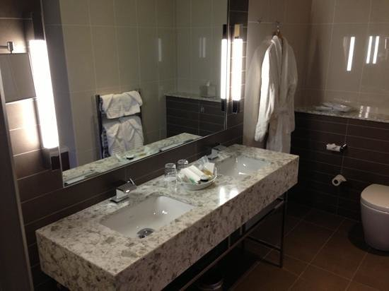 City Hotel: his & Hers sinks