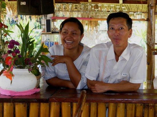 Bamboo Club : Kim et Srey, propriétaires