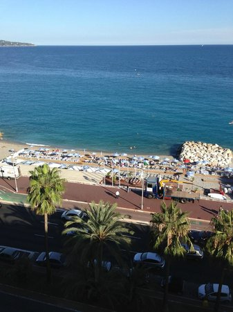 Radisson Blu Hotel, Nice: view from 4th floor room