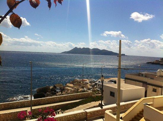 Vista dalla terrazza - Bild von Ristorante dell\'Albergo Paradiso ...