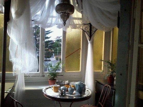 Hotel le Chalet: une agréable véranda