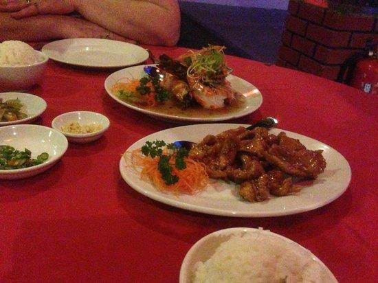 Oriental Pearl Restaurant: Chicken in Vegimite Sauce