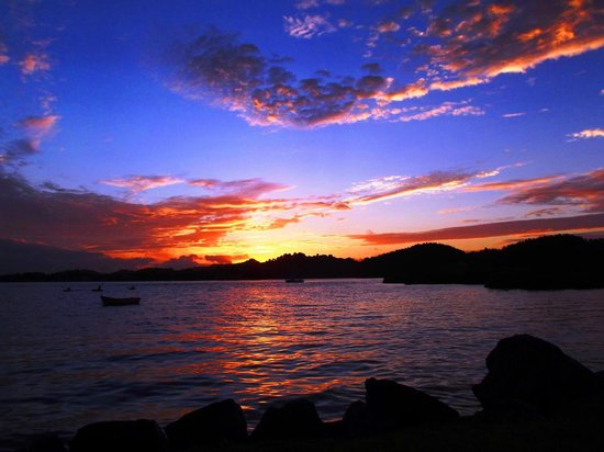 Whangateau Holiday Park : Sunrise - wake up to this magnificent view