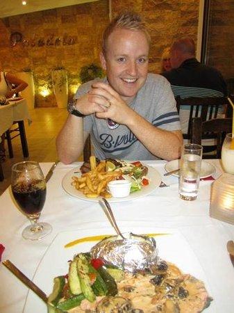 Paladela: mixed grill was great!