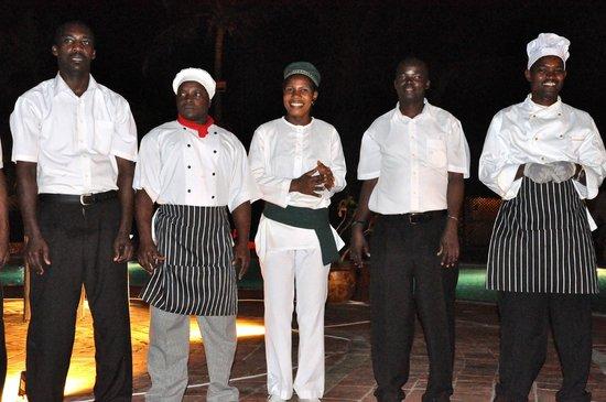 Dongwe Club: Staff
