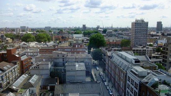 Premier Inn London City (Old Street) Hotel: Vue de la chambre au 12e étage - 2